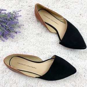 Chinese Laundry endless love color block flat shoe
